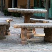 outdoor table large small