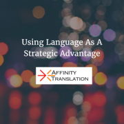 language strategic advantage
