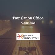 translation office near me