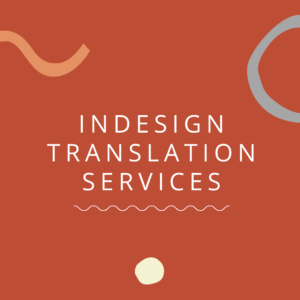InDesign Translation Services