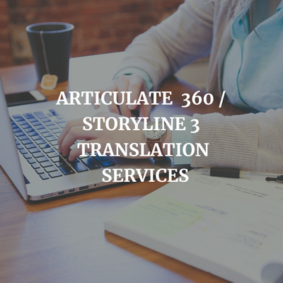 Articulate 360 / Storyline 3 Translation